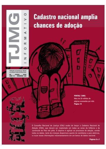 Informativo - Tribunal de Justiça de Minas Gerais