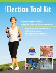 Election Tool Kit - Recreation Connections Manitoba