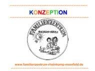 konzeption - Familienzentrum Rheinkamp-Meerfeld
