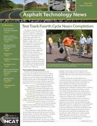 Asphalt Technology News Test Track Fourth ... - Auburn University