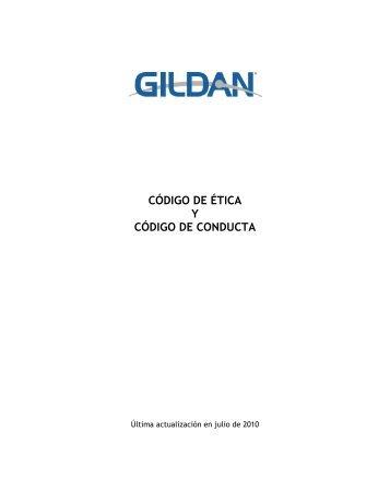 CÓDIGO DE ÉTICA Y CÓDIGO DE CONDUCTA - Gildan