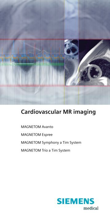 Cardiovascular MR imaging - McCausland Center