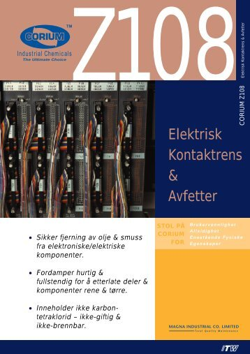 Elektrisk Kontaktrens & Avfetter - abema