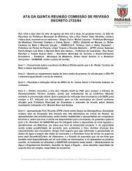 ATA DA QUINTA REUNIÃO COMISSÃO DE REVISÃO ... - COLIT