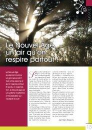 Le Nouvel Âge, un air qu'on respire partout - Pastorale Nouvelles ...