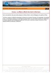 Corse : Le Mare e Monti de Calvi à Serriera - Tour aventure