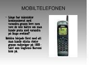mobilen - Teknik från Lillåns skola