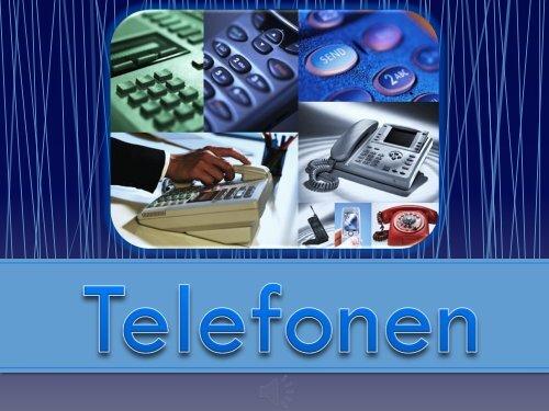 Presentation1 TELEFON 2 - Teknik från Lillåns skola