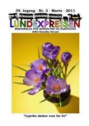 39. årgang · Nr. 3 · Marts · 2011 - lundens.net