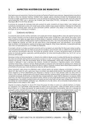 1 aspectos históricos do município - COLIT - Estado do Paraná