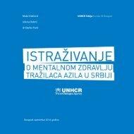 Publikacija-MentalnoZdravljeUNHCR-SRB