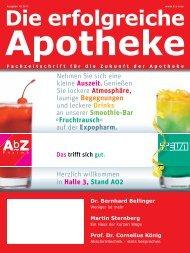 Ausgabe 10.2011 - Die erfolgreiche  Apotheke