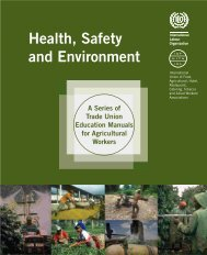 Health, Safety and Environment - International Labour Organization