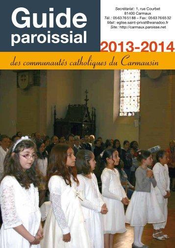 Le guide paroissial - Diocèse d'Albi