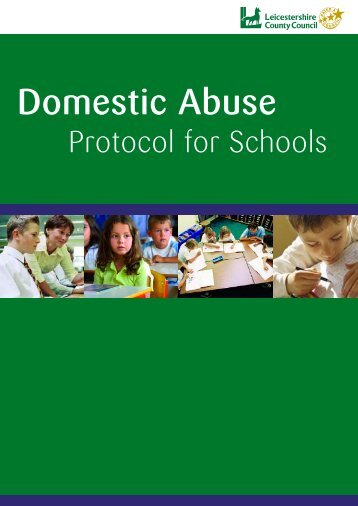 Domestic Violence Protocol - Leicestershire County Council