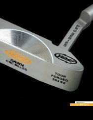 Yes! Golf 2010 putter cataloG