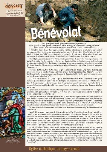 Bénévolat - Diocèse d'Albi