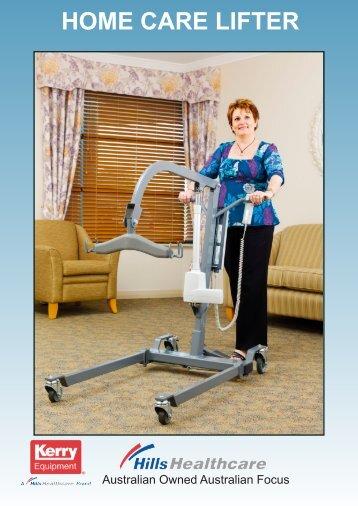 Brochure Home Care Lifter - Aidacare