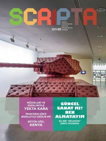 Scripta 2 - Türkçe