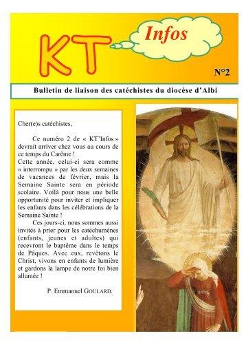 Bulletin de liaison des catéchistes du diocèse d'Albi