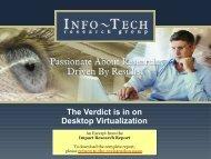 Desktop Virtualization - Info-Tech Research