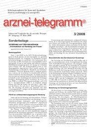 Sonderbeilage - Universität Hamburg - Fachwissenschaft Gesundheit