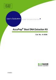 AccuPrep® Stool DNA Extraction Kit - Bioneer