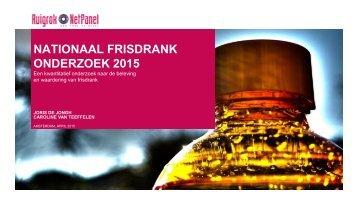Presentatie frisdrankenonderzoek 2015 - website