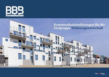 Kommunikationslösungen für die Zielgruppe Wohnungswirtschaft