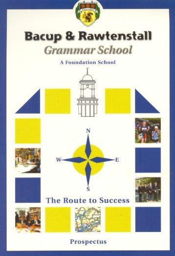 c. 2003 School Prospectus - brgs.me