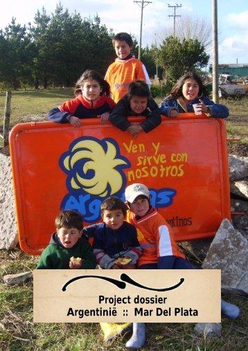 Project dossier Argentinië :: Mar Del Plata - Livingstone