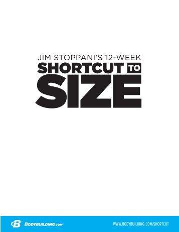 short cut to size pdf
