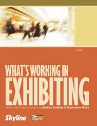 What's Working in Exhibiting