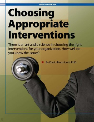 Appropriate Interventions - MetroHartford