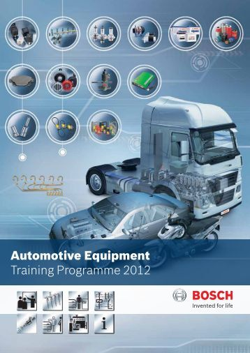 Automotive Equipment Training Programme 2012 - Bosch - in India