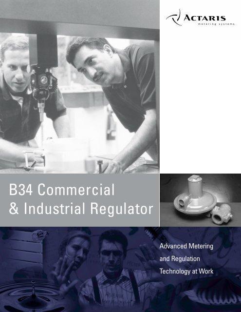 B34 Commercial & Industrial Regulator - AbsolutAire