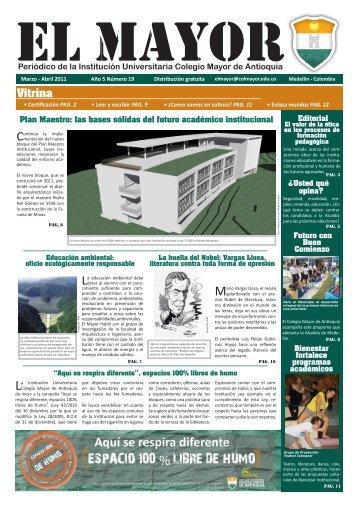 Vitrina - Colegio Mayor de Antioquia