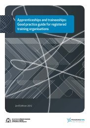 Apprenticeships and traineeships: Good practice guide for ...