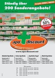 ab € 3,99 - Apo-Discount