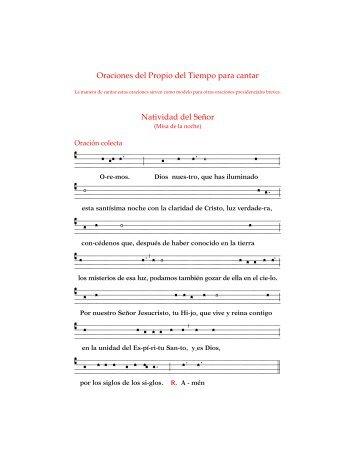 Oraciones - coro san clemente i