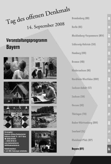 Veranstaltungsprogramm Bayern - Donaukurier