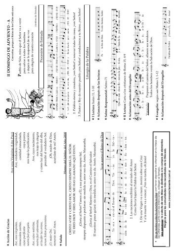 II DOMINGO DE ADVIENTO - A - coro san clemente i