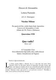 1938 Quo vadis? - Diocesi di Alessandria