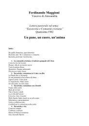 1982 Un pane, un cuore, un'anima - Diocesi di Alessandria