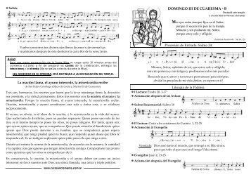 DO MING O III DE CUAR ESMA - B - coro san clemente i