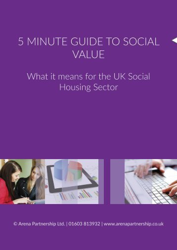 5 MINUTE GUIDE TO SOCIAL VALUE