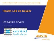 Health Lab de Keyzer - CareNet
