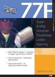 Super- Kraftig Universal Flussbelagt Lodde- legering - abema