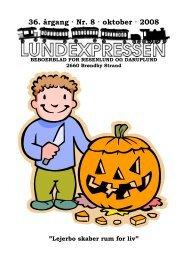 36. årgang · Nr. 8 · oktober · 2008 - lundens.net