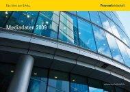 Personalwirtschaft Mediadaten 2009 - wanema.de